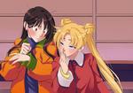 Sailor Moon Screencap Re-Draw