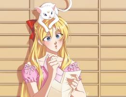 Sailor Moon Screencap Re-Draw 03 by Emily-Fay