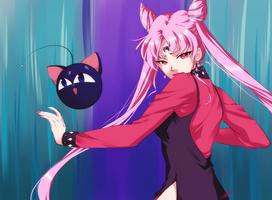 Sailor Moon Screencap Re-Draw 05 by Emily-Fay