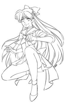 Sailor Venus [ink]