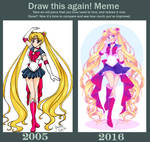 Draw This Again: 2005 v 2016