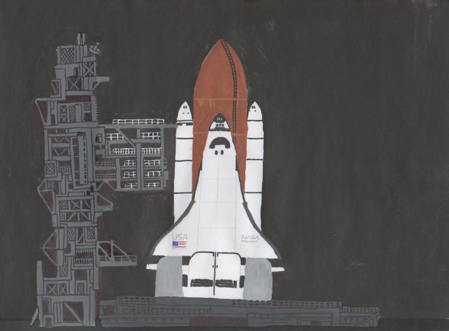Space Shuttle Launch by antonio248 on DeviantArt