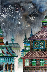 night city by nokkasili