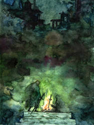 bonfire by nokkasili