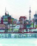 a city in the sea