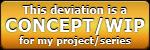 [F2U] Concept Work-In-Progress Button