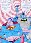 Superman versus Batman
