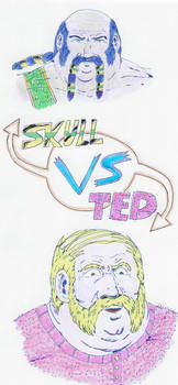 Versus 01 Skull vs Ted