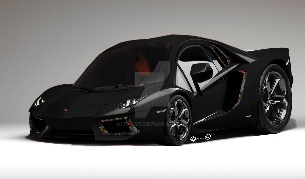 New Concept Art Lamborghini Aventador By Its Gvc On Deviantart