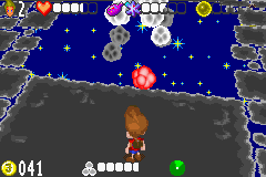 Jimmy Neutron VS Jimmy Negatron (GBA) Screenshot by Cheeyev