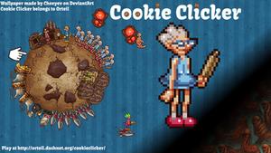 1600x900 Cookie Clicker Wallpaper