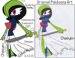 My Ninja-Princess Gardevoir Pokesona
