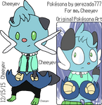My Male Dewott Pokesona