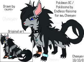Akise the Mightyena - Reference