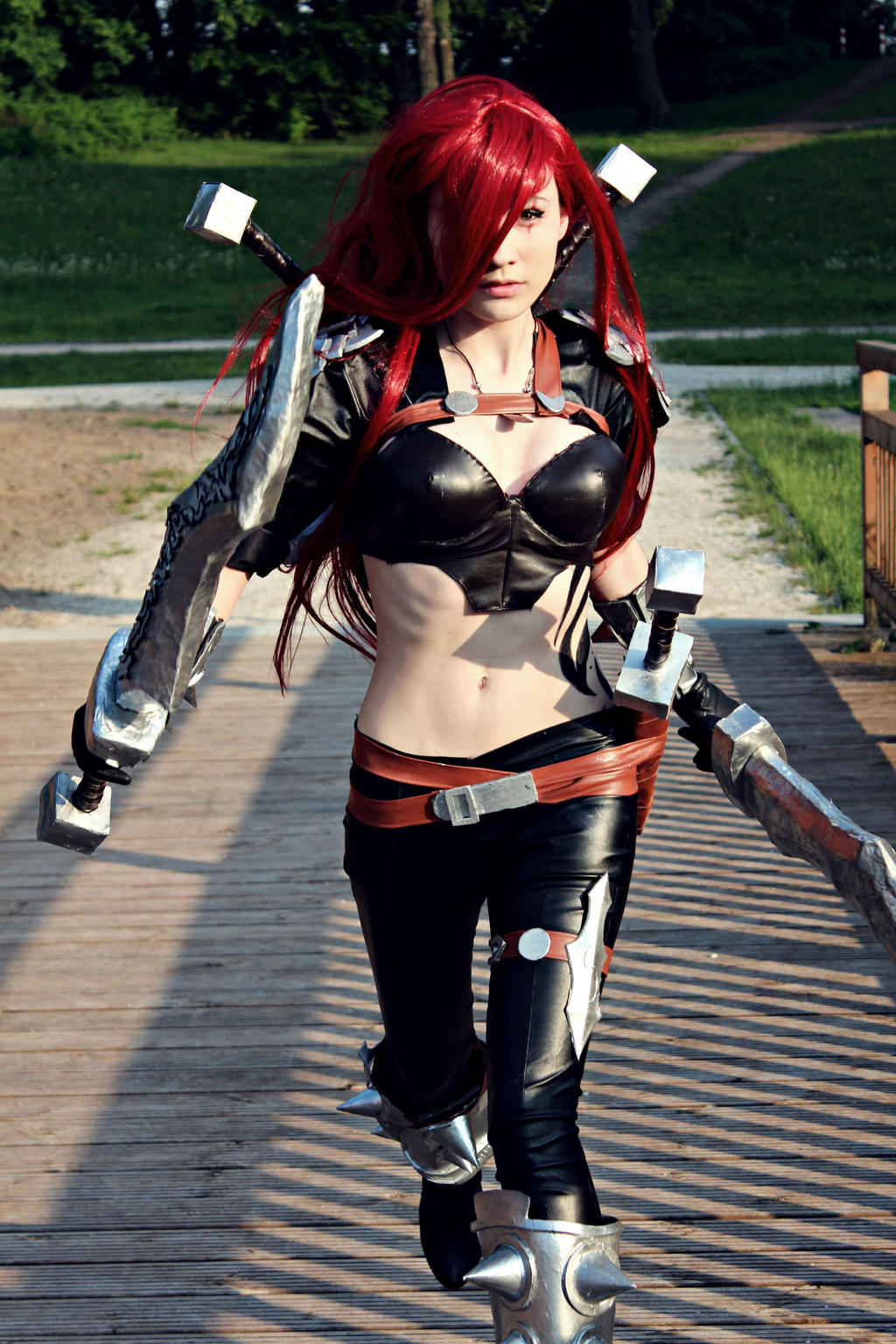 LoL: Katarina The Sinister Blade by Hikarux33