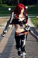 LoL: Katarina The Sinister Blade by Hikarux33