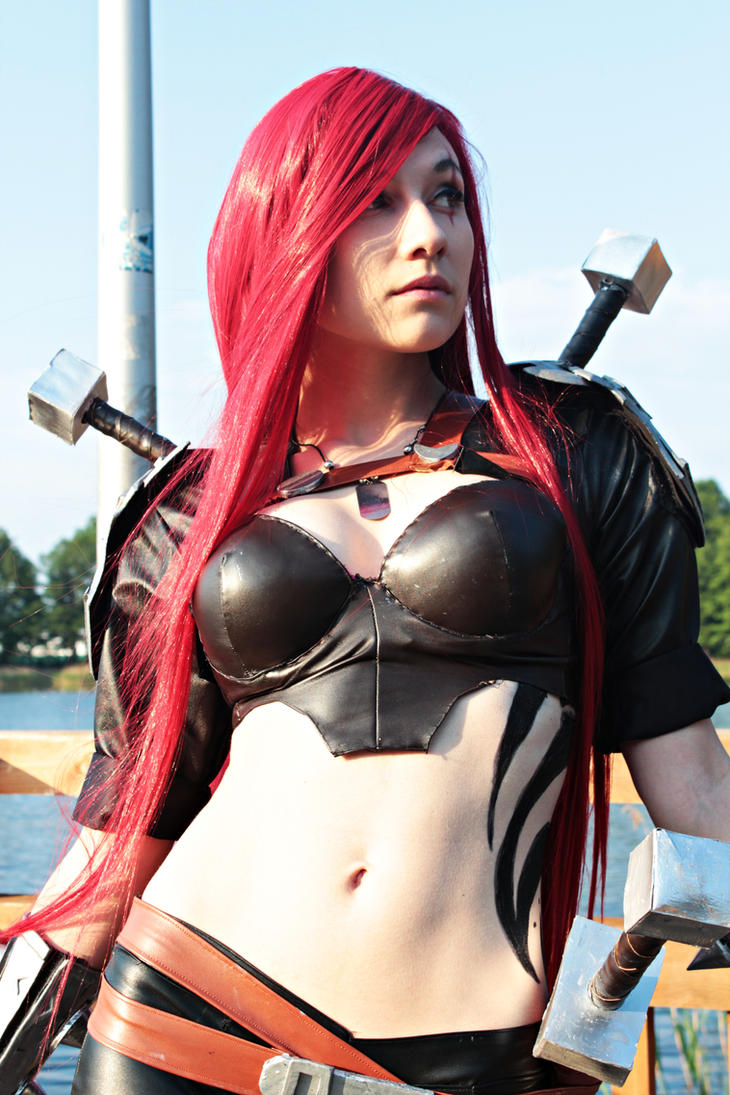Katarina Cosplay: Blood for Noxus by Hikarux33