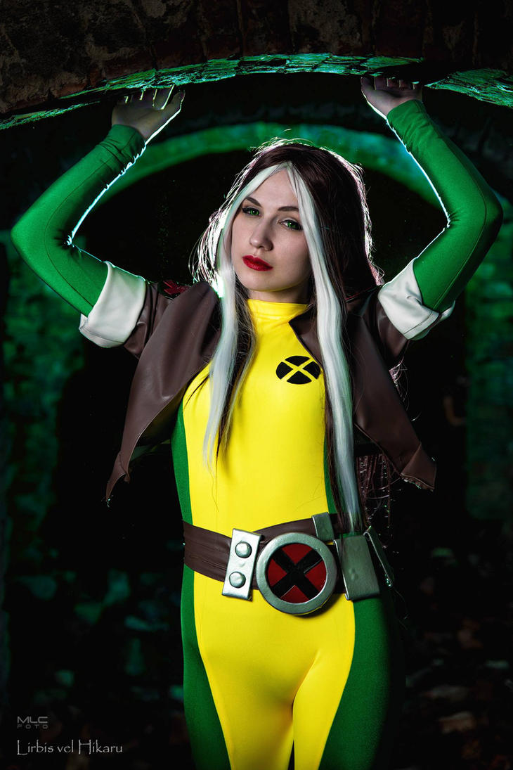 Rogue Cosplay X-men by Hikarux33