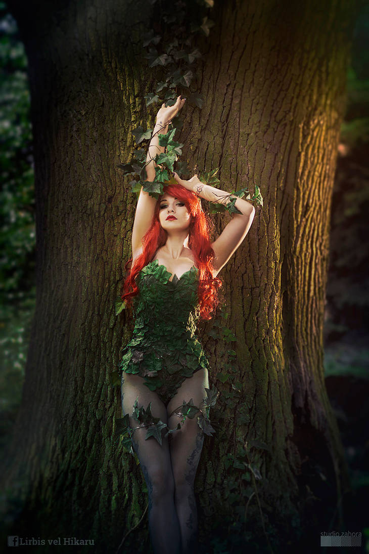 Poison Ivy cosplay by Lirbis