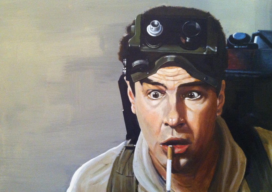 Dan Aykroyd as Ray Stantz in Ghostbusters by Stew-Illustrations