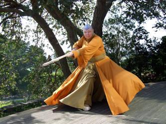 Cosplay Avatar Yang Chen by HawkTnz