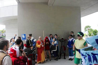 SDCCI ATLA and TLOK cosplayers...