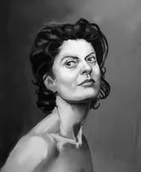 Portrait practice by alxcarvalho