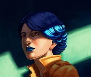 Blue by alxcarvalho
