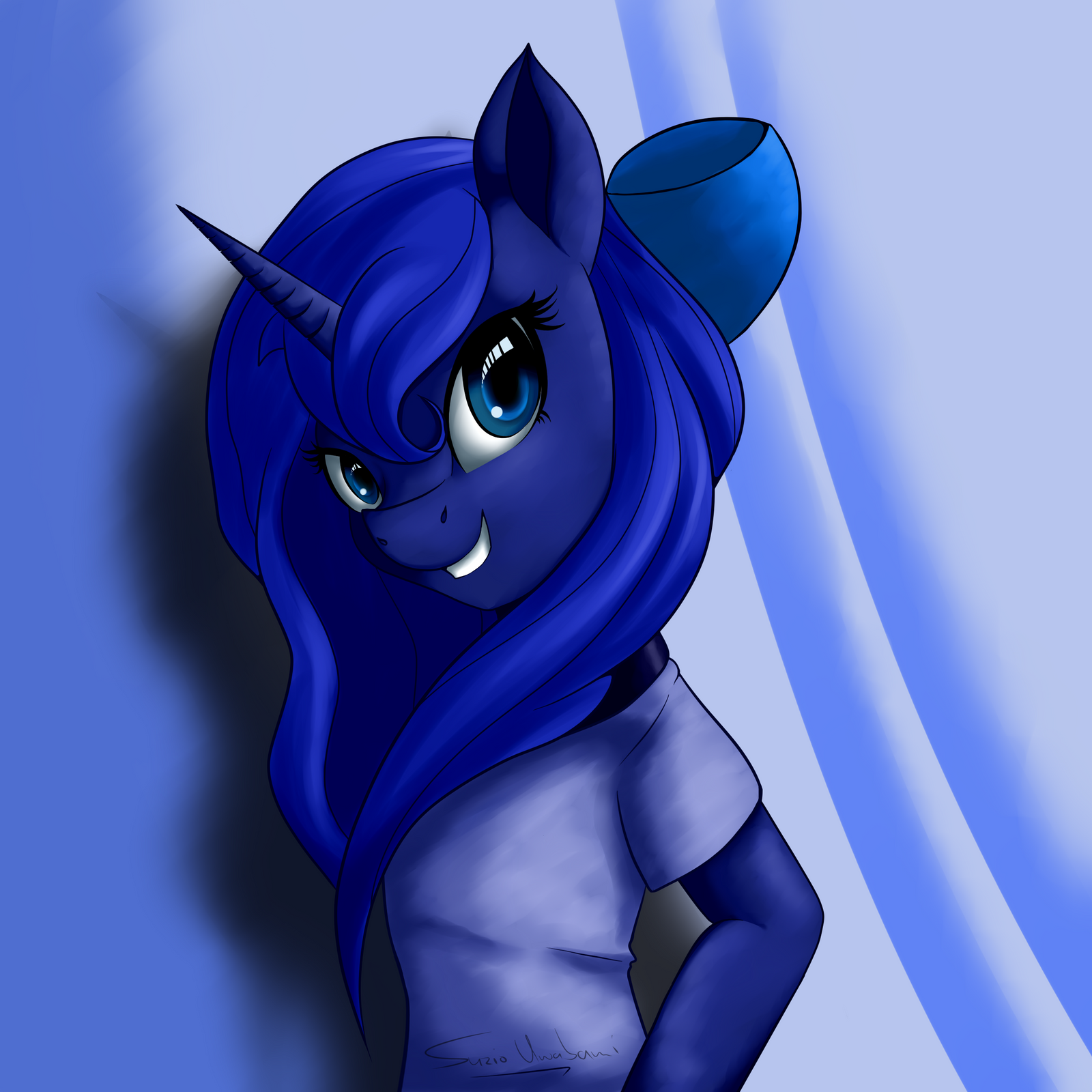 The Human Princess Luna By SuzioUwabami On DeviantArt