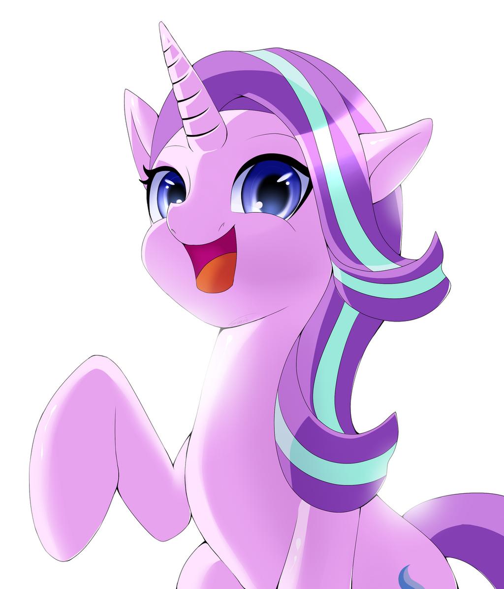Hi, I'm Starlight Glimmer! by SuzioUwabami on DeviantArt