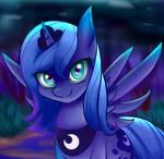 Young Princess Luna