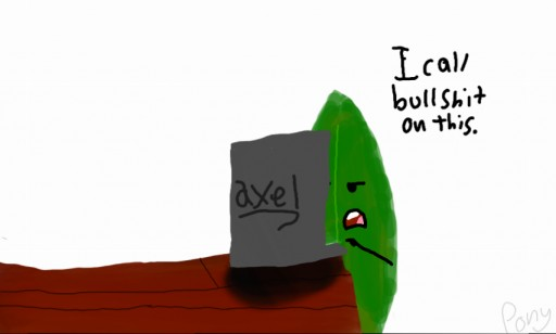 Leafy Reacts to LeafyIsHere by TheInanimatePony on DeviantArt