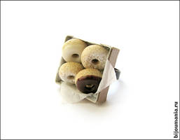 Ring 'Doughnuts' by allim-lip