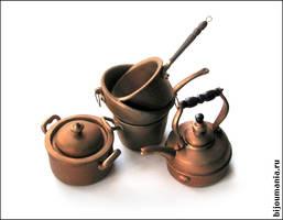 Vintage copper ware 6 by allim-lip