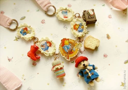 Paddington Bear Necklace