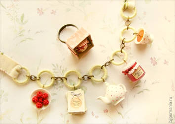 Ring and Necklace Tea with jam by allim-lip