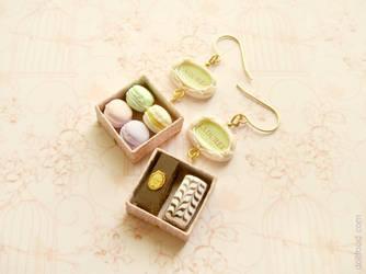 Laduree Earrings by allim-lip