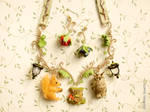 The Fairy Forest Necklace and Earrings