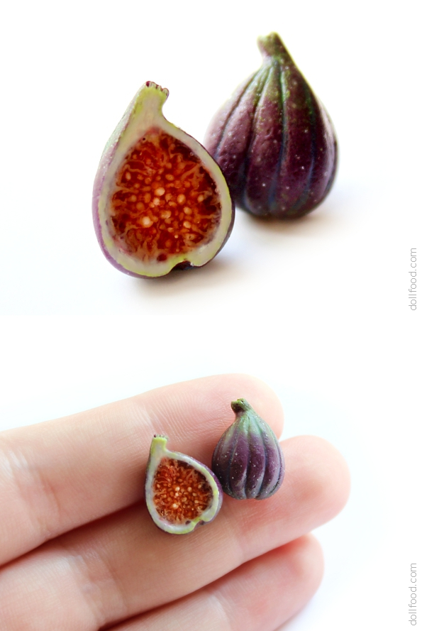 Figs Stud Earrings by allim-lip