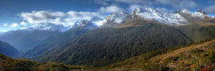 Key Summit Panorama by Bunniesandsheep