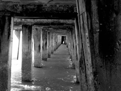 Cement Hallway