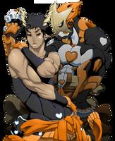 Rekka and Orange Comet