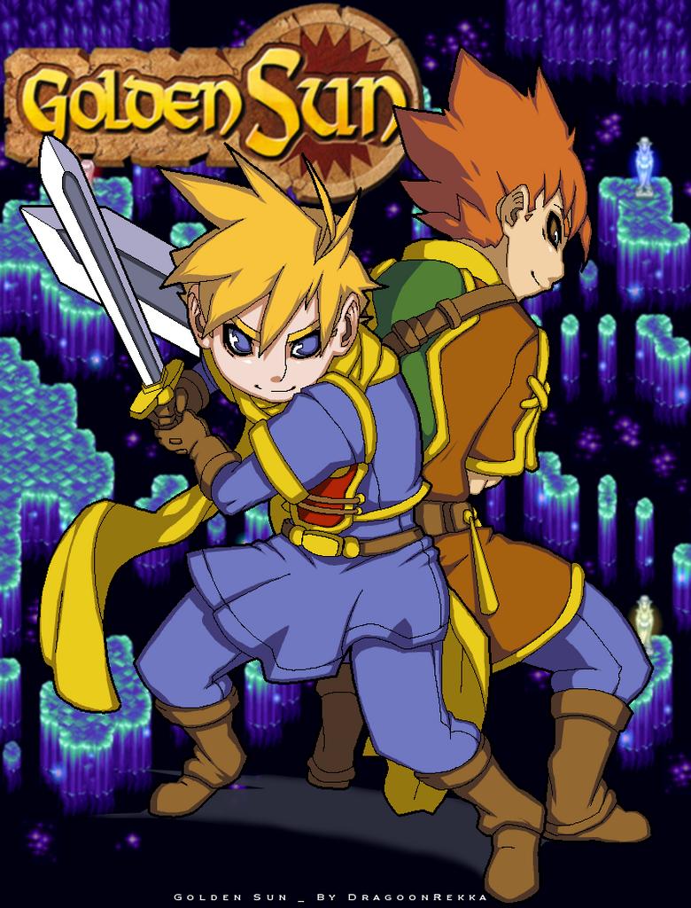 Golden Sun  by Dragoon-Rekka