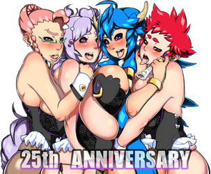 25th Anniversary ! by Dragoon-Rekka