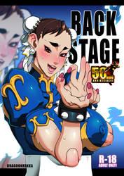 BACK STAGE _50th Anniversary Chun-li by Dragoon-Rekka