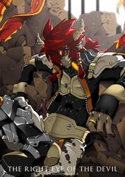 THE RIGHT EYE OF THE DEVIL by Dragoon-Rekka