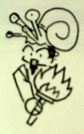 Sir, u have a snail on ur head by FluffyTurtle
