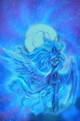 Luna by FluffyTurtle