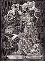 an offering to the deep by A-D-McGowan
