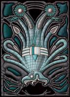 The Cephalopod Serpent God by A-D-McGowan